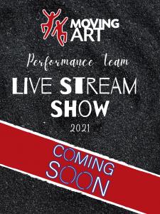 Live Stream Show Poster